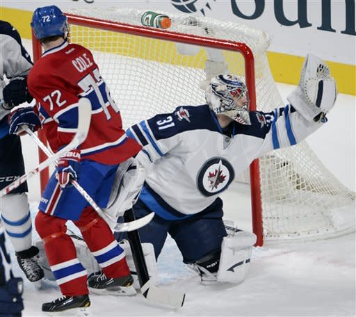 Canadiens edge Jets 4-3 for 4th straight win