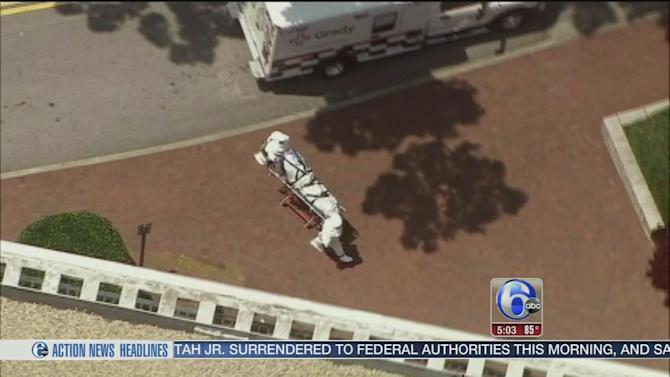 2nd American aid worker with Ebola arrives in US