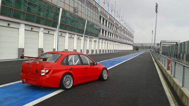 WTCC: LADA Sport Lukoil are undergoing their second track test of the year, at Magny-Cours again, from Monday to Thursday