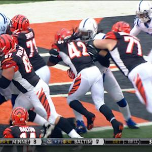 Cincinnati Bengals running back BenJarvus Green-Ellis 2nd touchdown