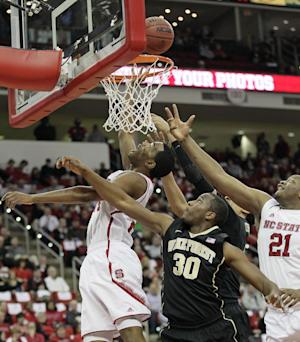 Warren scores 34, NC State routs Wake 82-67