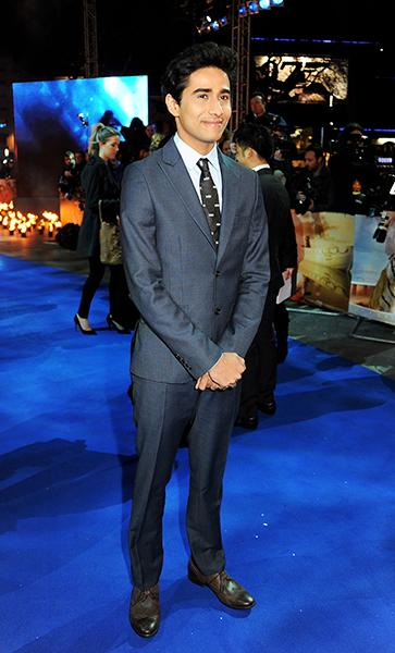 "Sharma at the ""Life of Pi"" UK premiere in December, 2012"
