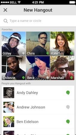 Google Hangouts update for iOS lets it call US & Canada for free, receive Google Voice calls