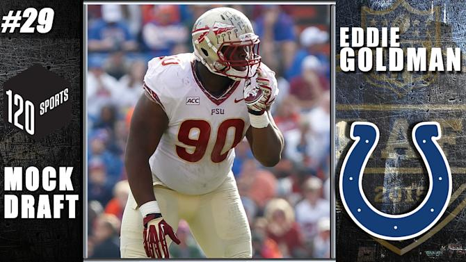 120 NFL Mock Draft: Indianapolis Colts Select Eddie Goldman