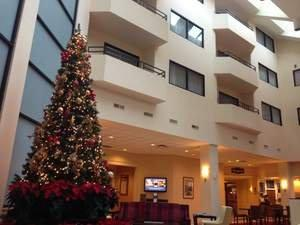 Santa Claus Plans Holiday Stop to Visit With Children at Hotel Near Minneapolis