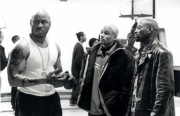 LL Cool J , Hill Harper and Omar Epps in In Too Deep