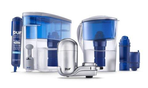 PUR Water Pitcher Filters Certified to Reduce Two Times More Contaminants Than Brita1