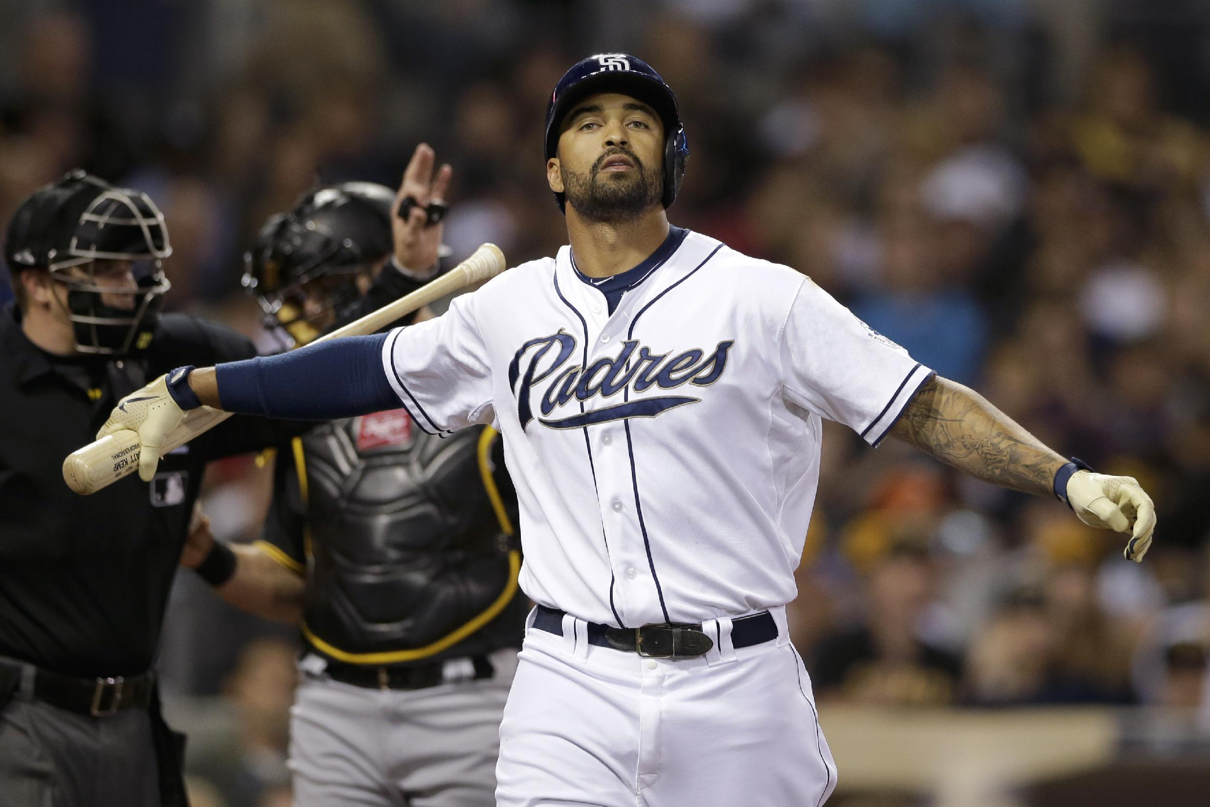 Norris' grand slam lifts Padres to 6-2 win vs Pirates