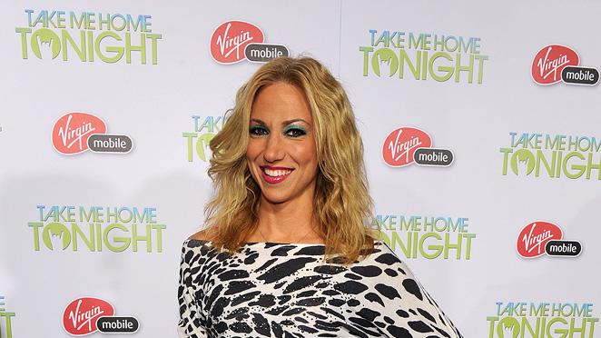 Take Me Home Tonight 2011 LA Premiere Debbie Gibson