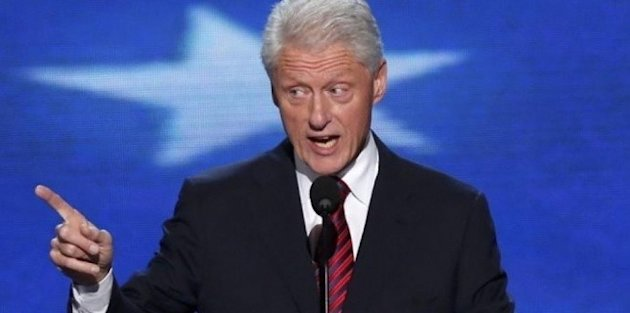BILL CLINTON SOUTIENT BARACK OBAMA LORS DE LA CONVENTION DÉMOCRATE