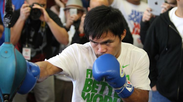 Manny Pacquiao Open Workout
