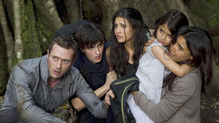 "The Shannon family on ""Terra Nova."""