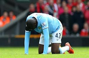 Pellegrini: Yaya Toure could be out out for two weeks