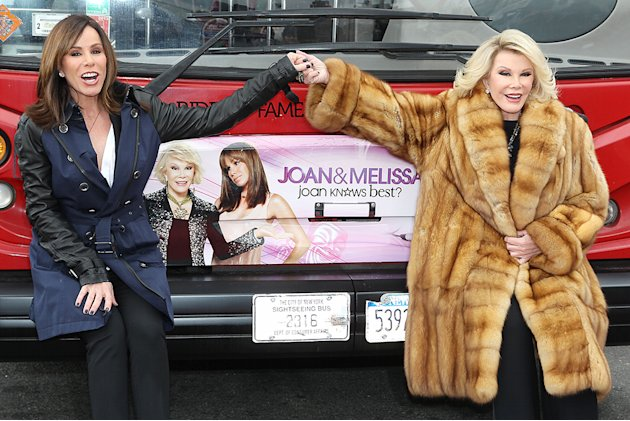 Gray Line New York Honors WE TV Stars Joan &amp; Melissa Rivers with their