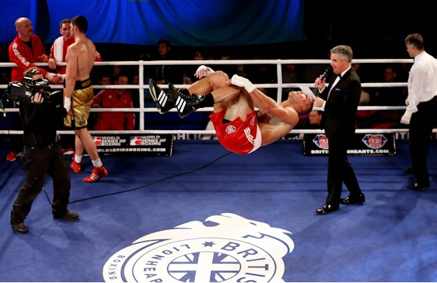 British Lionhearts v Astana Arlans Kazakhstan - World Series of Boxing