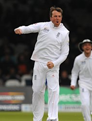 Graeme Swann is 'proud' to have overtaken Jim Laker