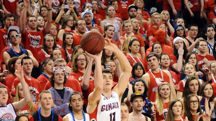 NCAA Basketball: Santa Clara at Gonzaga