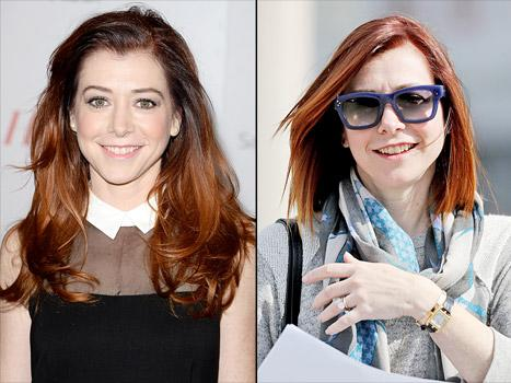 Alyson Hannigan Debuts Chic New Bob Haircut After How I Met Your Mother Wraps