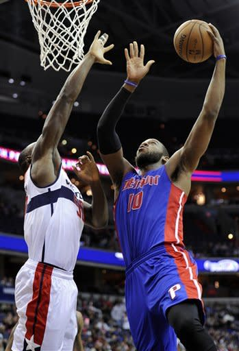 Pistons beat Wizards again 96-87