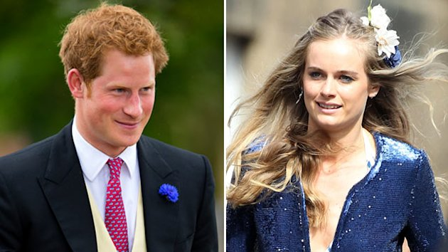 Prince Harry Rocks Out with Cressida Bonas (ABC News)