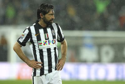 Andrea Pirlo is outrageously good, and he knows it