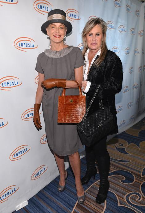 Sharon Stone and Toni Braxton Lead the Buying Frenzy at the Lupus LA Hollywood Bag Ladies Luncheon