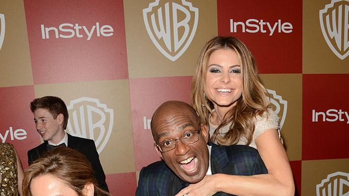 14th Annual Warner Bros. And InStyle Golden Globe Awards After Party - Arrivals: Giada De Laurentiis, Al Roker and Maria Menounos