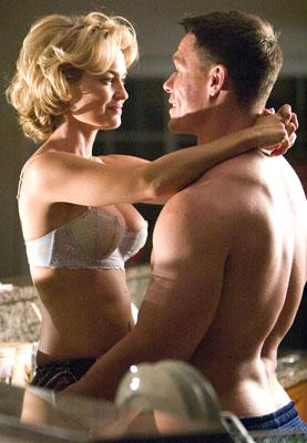 John Cena and Kelly Carlson in 20th Century Fox's The Marine