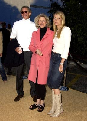 Bruce Paltrow , Blythe Danner and Gwyneth Paltrow at the LA premiere of New Line's Austin Powers in Goldmember