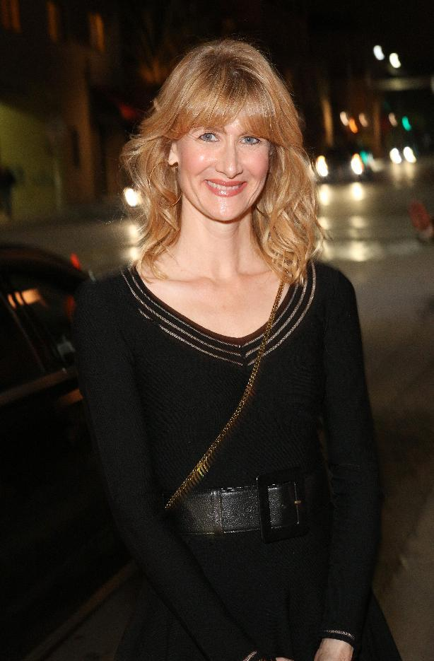 Laura Dern arrives at The Hollywood Reporter Nominees' Night Insider at Spago on Monday, Feb. 4, 2013, in Beverly Hills, Calif. (Photo by Casey Rodgers/Invision for The Hollywood Reporter/AP Images)
