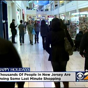 Time Is Running Out For Those Still Needing To Holiday Shop