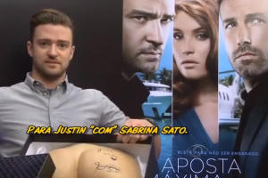Justin Timberlake Gets Butt in a Box During Awkward Brazilian Interview: 5 Other Press Junkets Gone Wild (Video)