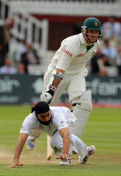 England v South Africa: First Test - Day Four