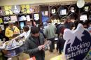 Shoppers browse at Marbles: The Brain Store within The Court, King of Prussia Mall, United State's largest retail shopping space, in King of Prussia