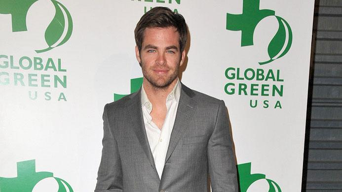 Global Green Pre Oscar Party 2009 Chris Pine