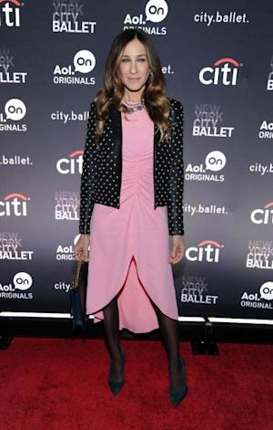 Sarah Jessica Parker attends the New York series premiere of 'city.ballet.' at Tribeca Cinemas on November 4, 2013 in New York -- Getty Images