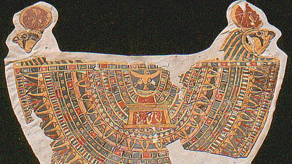 Mummy's Colorful Collar Found in Egyptian Tomb