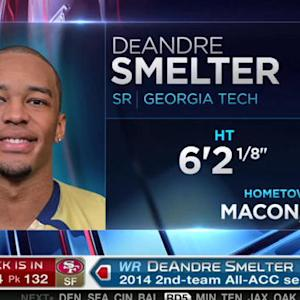 San Francisco 49ers pick wide receiver DeAndre Smelter No. 132 in 2015 NFL Draft
