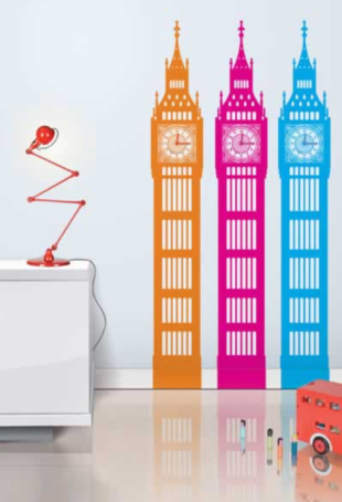 Big Ben Wall Stickers