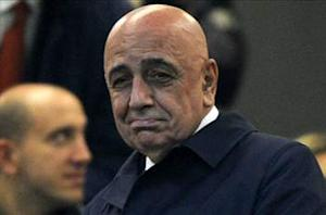 Galliani: Milan targeting top-three finish