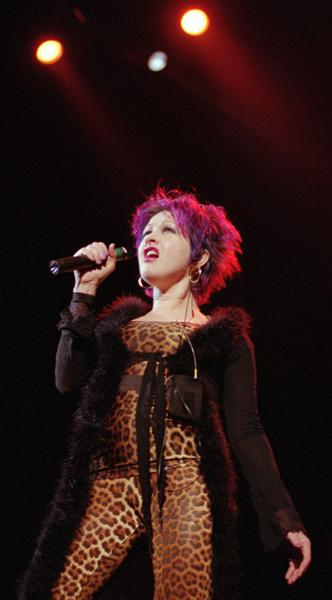 Opening for Tina Turner in Las Vegas, 1997