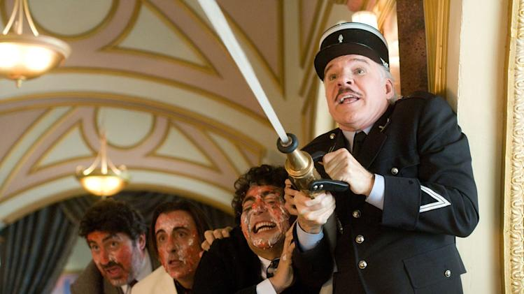 Alfred Molina Andy Garcia Yuki Matsuzaki Steve Martin The Pink Panther 2 Production Stills Sony 2009