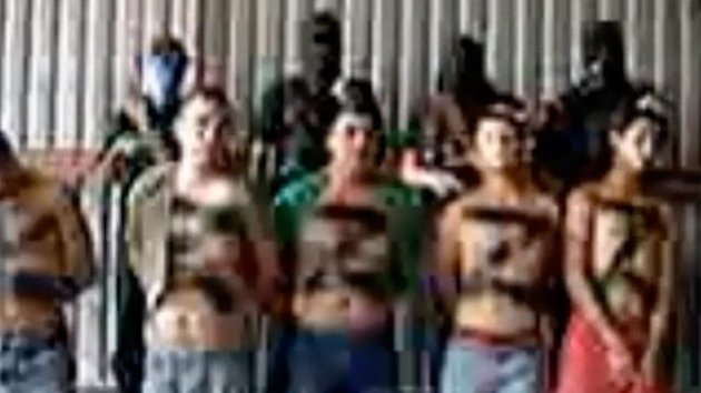 Drug Cartel Rivals Behead Zetas on Camera (ABC News)