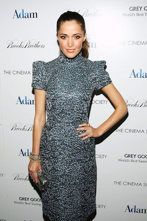 Adam NY Screening 2009 Rose Byrne