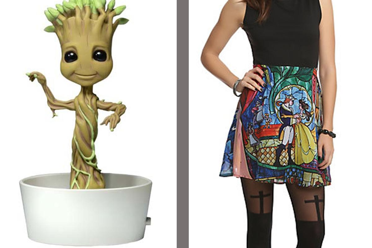 Shut up and take my money! - Dancing Groot, 'Beauty and the Beast,' and more