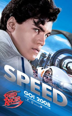 Emile Hirsch as Speed Racer in Warner Bros. Pictures' Speed Racer