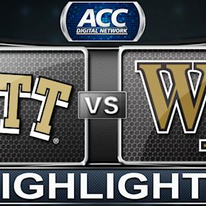 Pittsburgh vs Wake Forest | 2014 ACC Women's Basketball Tournament Highlights