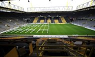 A view of the Signal Iduna Park stadium in 2011. Borussia Dortmund face neighbours Schalke 04 on Saturday in the Ruhr derby and the Bundesliga's growing overseas appeal means there will be plenty of interest around the world