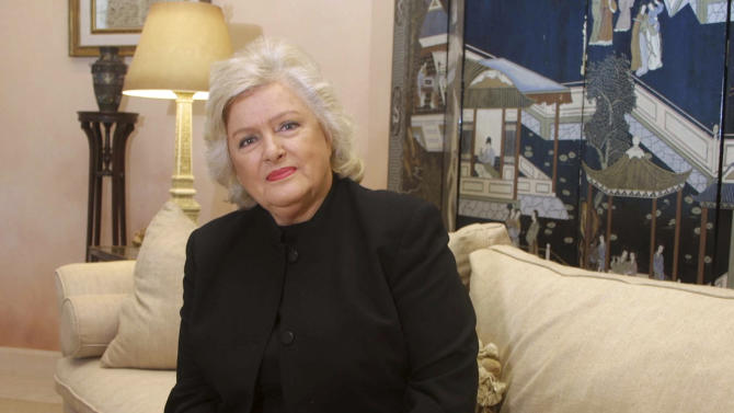 FILE - This Oct. 2001 photo shows Frances W. Preston, who worked with top songwriters as president of the royalties company Broadcast Music Inc. in Nashville, Tenn. Preston died Wednesday, June 13, 2012. She was 83. (AP Photo/Ed Rode, File)