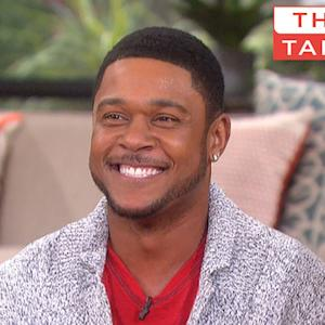 "The Talk - Pooch Hall Says On-Screen Father Jon Voight ""Makes Us All Better"""